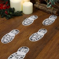 Christmas Craft - Santa's Boot Prints (12)
